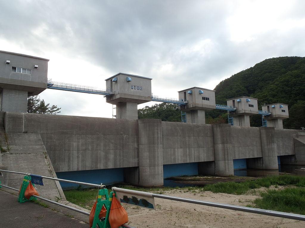 Image of Fudai seawall